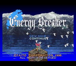 Game profile: Energy Breaker ~ SNESmusic org