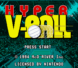 Game profile: Hyper V-Ball ~ SNESmusic org
