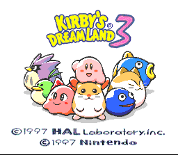 Game profile: Kirby's Dream Land 3 ~ SNESmusic.org on kirby's dreamland map, super mario world 2 map, lovecraft h.p. lovecraft world map,