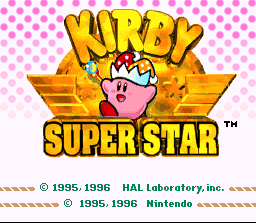 Game profile: Kirby Super Star ~ SNESmusic org